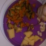 Fanrtasia a colori (polenta, carne e verdure) - asilo nido il pesciolino