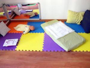 Massaggio mamma-bambino